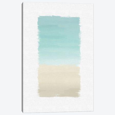 Turquoise Abstract Canvas Print #ORA223} by Orara Studio Canvas Art Print