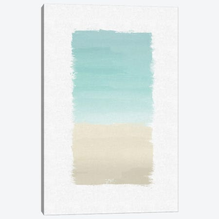 Turquoise Abstract Canvas Print #ORA223} by Orara Studio Canvas Art Print