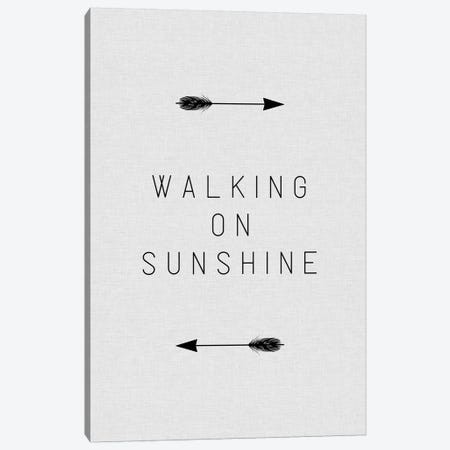 Walking On Sunshine Arrow Canvas Print #ORA225} by Orara Studio Canvas Wall Art