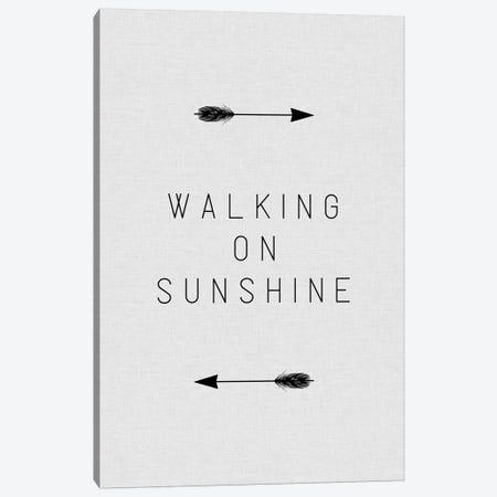 Walking On Sunshine Arrow Canvas Print #ORA225} by Orara Studio Canvas Wall Art