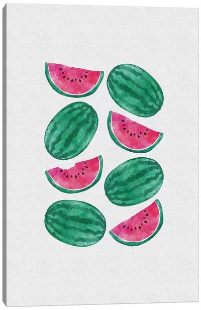 Watermelon Crowd Canvas Art Print