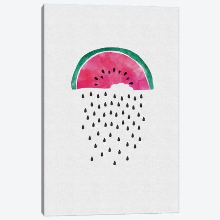 Watermelon Rain Canvas Print #ORA228} by Orara Studio Canvas Print