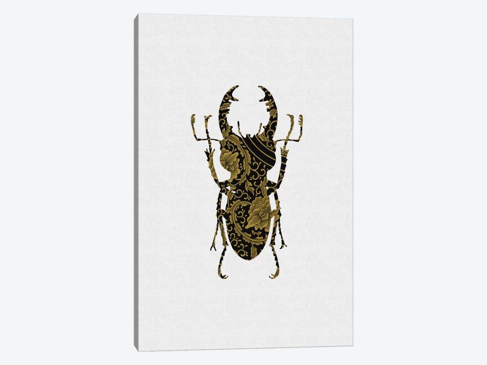 Black & Gold Beetle III by Orara Studio 1-piece Art Print