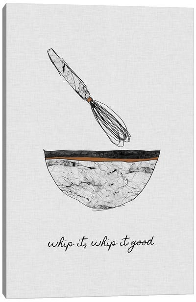 Whip It Good Canvas Art Print