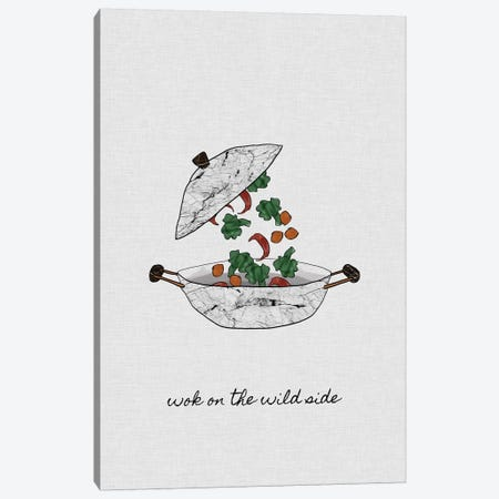 Wok On The Wild Side Canvas Print #ORA235} by Orara Studio Canvas Print