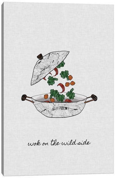 Wok On The Wild Side Canvas Art Print