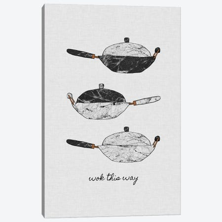Wok This Way Canvas Print #ORA236} by Orara Studio Canvas Art Print