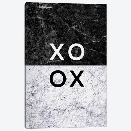 XO B&W Canvas Print #ORA237} by Orara Studio Canvas Art Print