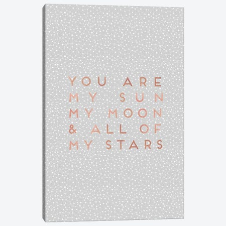 You Are My Sun Canvas Print #ORA240} by Orara Studio Canvas Art Print