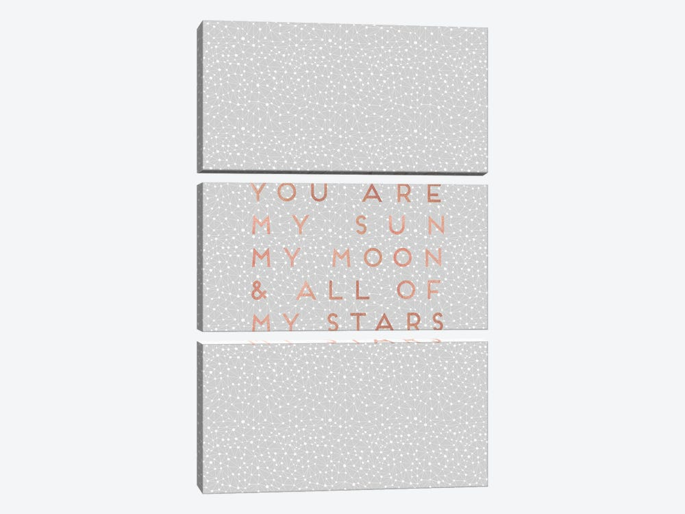 You Are My Sun by Orara Studio 3-piece Canvas Art Print
