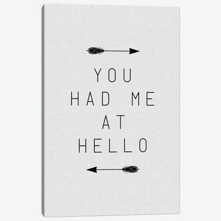 You Had Me Arrow Canvas Print #ORA241} by Orara Studio Canvas Art Print