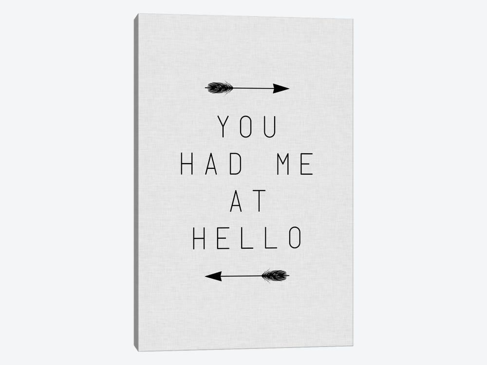 You Had Me Arrow by Orara Studio 1-piece Canvas Wall Art