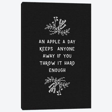 An Apple A Day Canvas Print #ORA245} by Orara Studio Canvas Wall Art