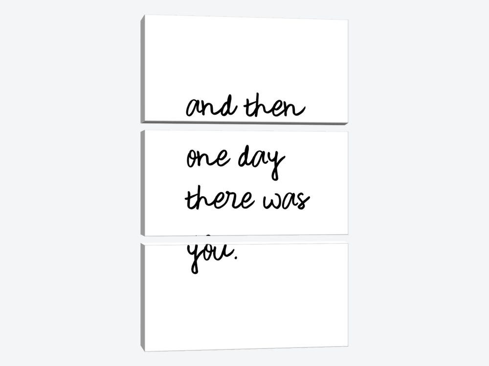 And One Day There Was You by Orara Studio 3-piece Canvas Print