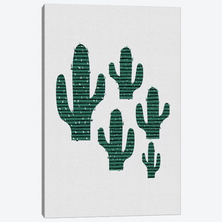 Cactus Crowd Canvas Print #ORA250} by Orara Studio Canvas Artwork
