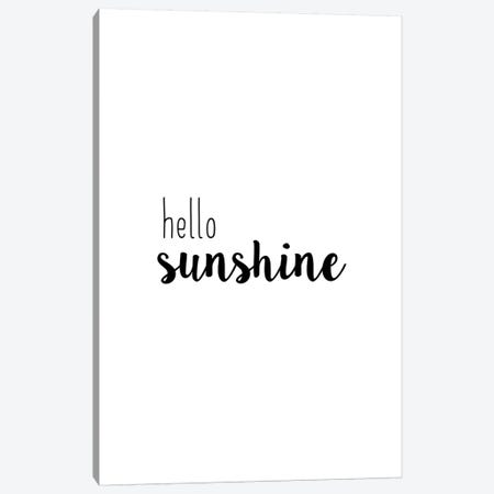 Hello Sunshine Canvas Print #ORA259} by Orara Studio Canvas Wall Art