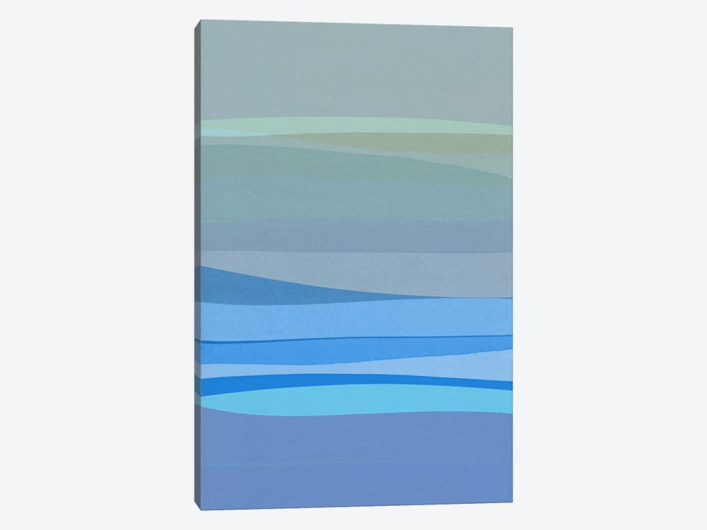 Blue Abstract I by Orara Studio 1-piece Canvas Print
