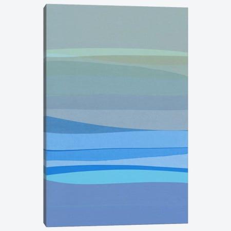 Blue Abstract I Canvas Print #ORA26} by Orara Studio Canvas Wall Art