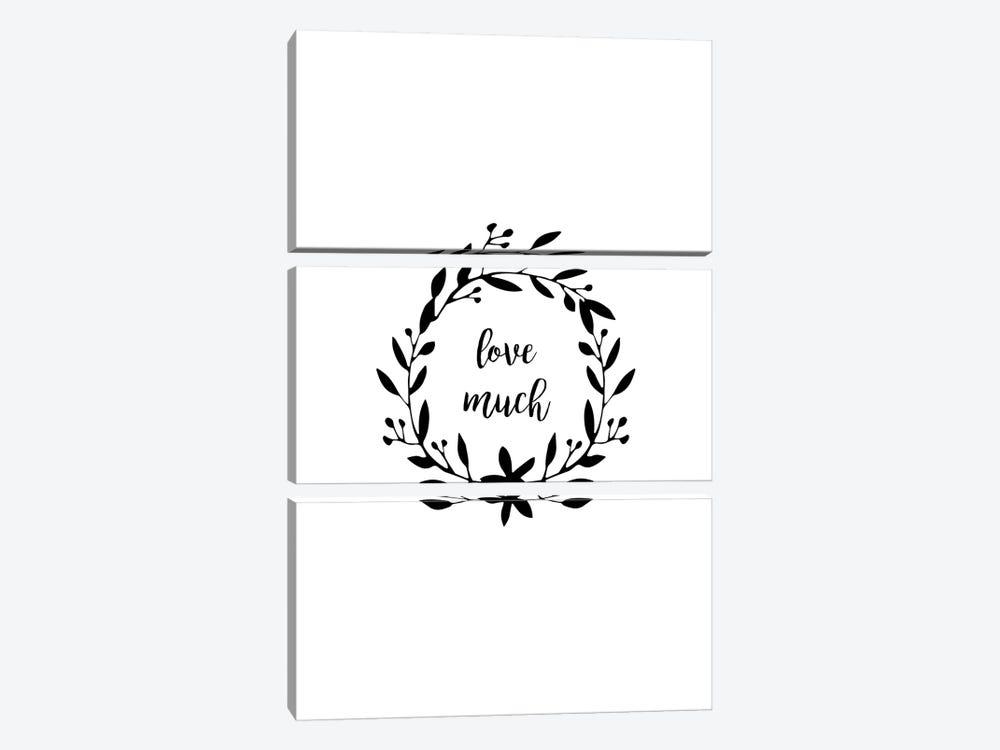 Love Much by Orara Studio 3-piece Art Print