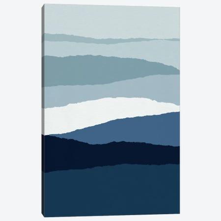 Blue Abstract II Canvas Print #ORA27} by Orara Studio Canvas Wall Art
