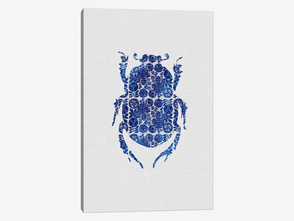 Blue Beetle I by Orara Studio 1-piece Art Print