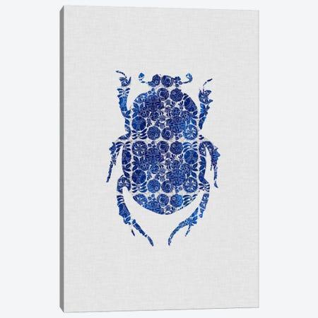 Blue Beetle I Canvas Print #ORA28} by Orara Studio Canvas Art Print