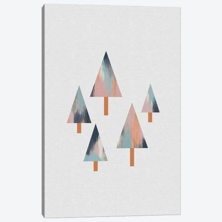 Pastel Trees Canvas Print #ORA290} by Orara Studio Canvas Wall Art
