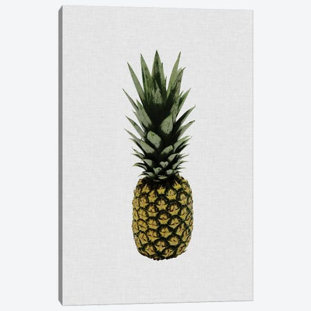Pineapple I Canvas Print #ORA292} by Orara Studio Canvas Art