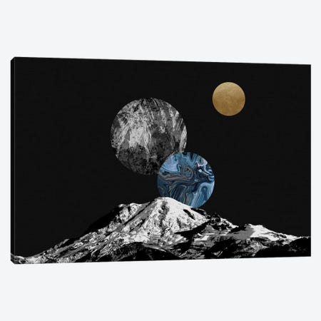Space II Canvas Print #ORA297} by Orara Studio Art Print