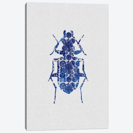 Blue Beetle II Canvas Print #ORA29} by Orara Studio Canvas Print