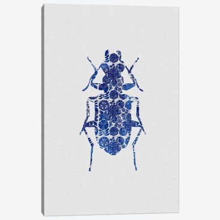 Blue Beetle II Canvas Print #ORA29} by Orara Studio Canvas Print