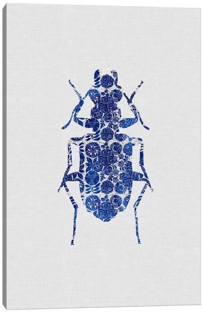 Blue Beetle II Canvas Art Print