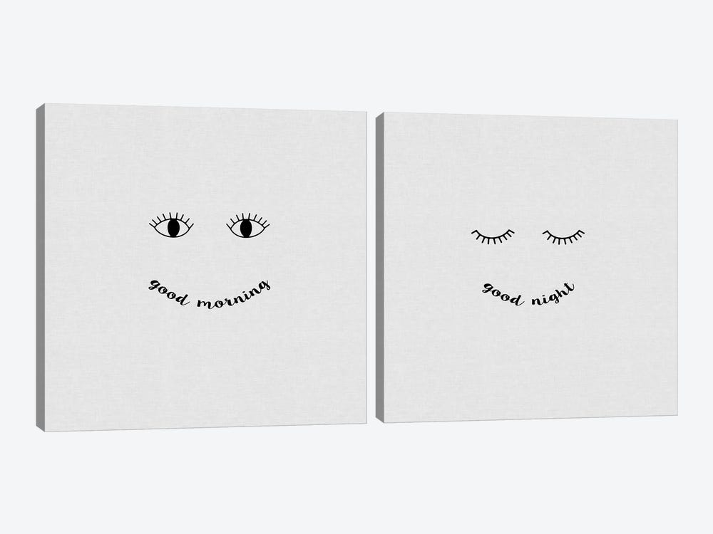 Good Morning, Good Night Diptych by Orara Studio 2-piece Art Print