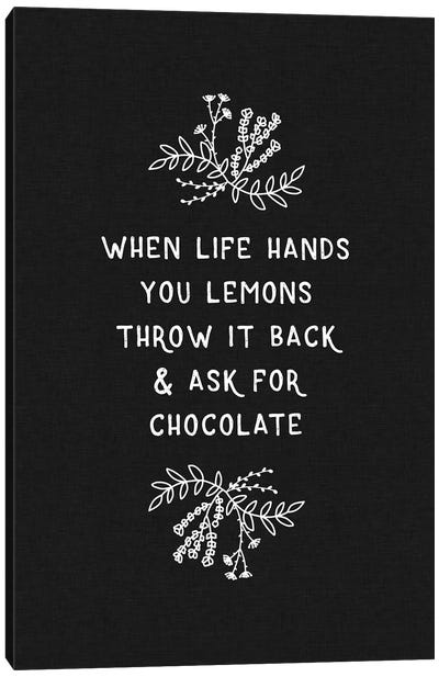 When Life Hands You Lemons Canvas Art Print