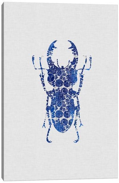Blue Beetle III Canvas Art Print