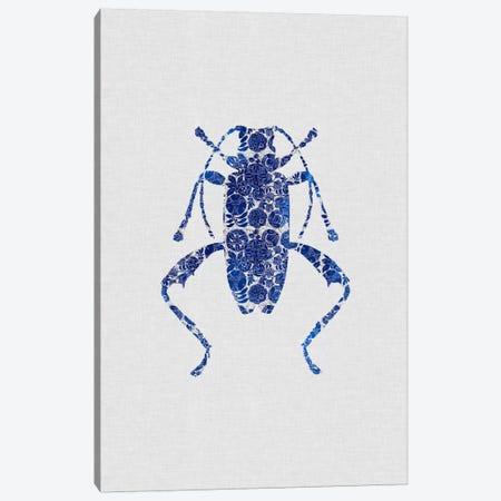 Blue Beetle IV Canvas Print #ORA31} by Orara Studio Canvas Art