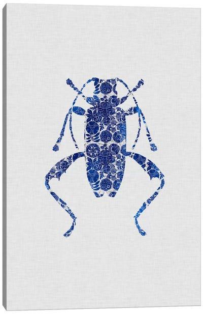 Blue Beetle IV Canvas Art Print