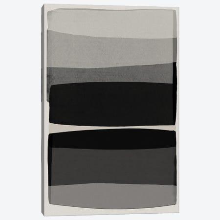 Modern Black And White Canvas Print #ORA323} by Orara Studio Canvas Art