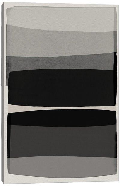 Modern Black And White Canvas Art Print