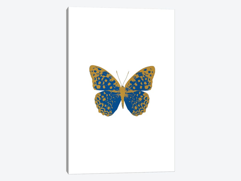 Blue Butterfly by Orara Studio 1-piece Canvas Artwork