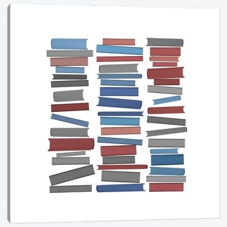 Books Colourful Canvas Print #ORA338} by Orara Studio Canvas Print