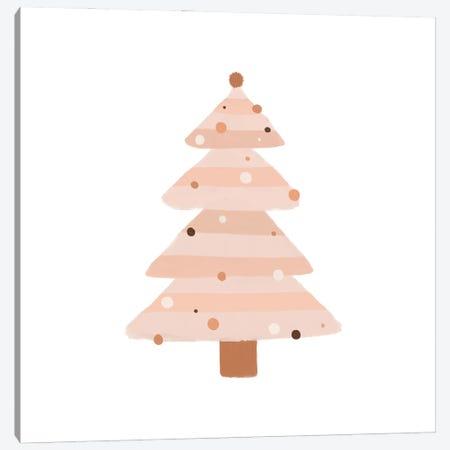 Blush Christmas Tree Canvas Print #ORA340} by Orara Studio Canvas Wall Art