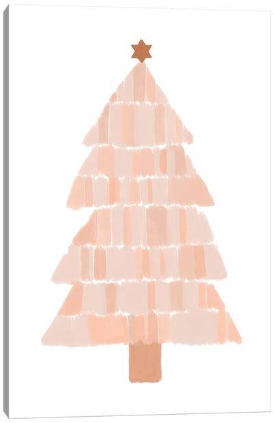 Christmas Tree Painting Canvas Art Print