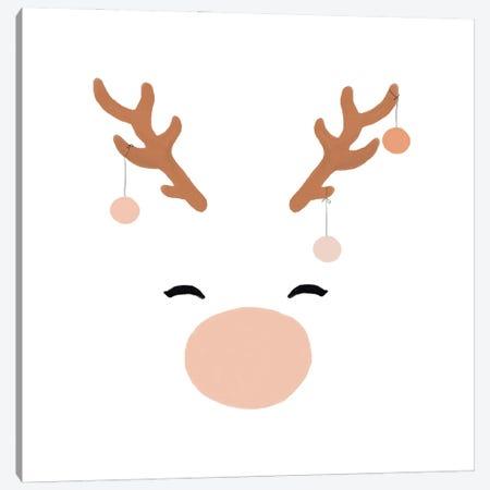 Deer & Baubles Canvas Print #ORA352} by Orara Studio Art Print