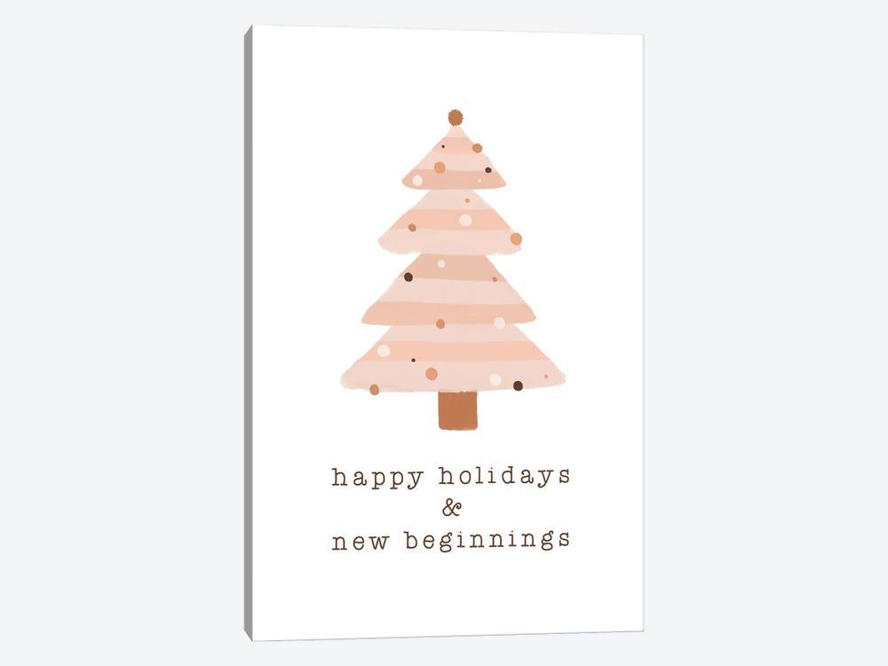 Happy Holidays & New Beginnings by Orara Studio 1-piece Canvas Art