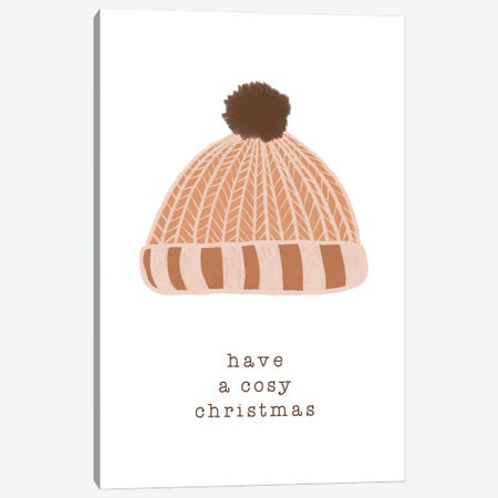 Have A Cosy Christmas Canvas Print #ORA358} by Orara Studio Canvas Print