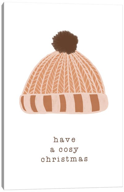 Have A Cosy Christmas Canvas Art Print