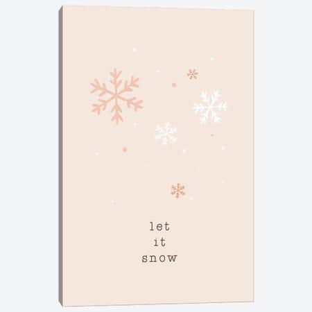 Let It Snow Canvas Print #ORA359} by Orara Studio Art Print