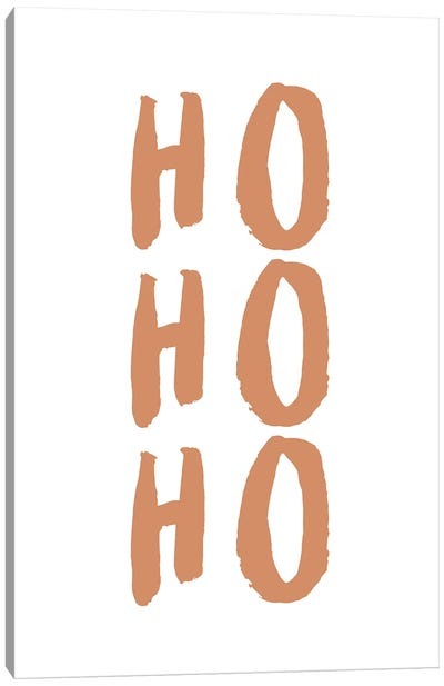 Ho Ho Ho Canvas Art Print