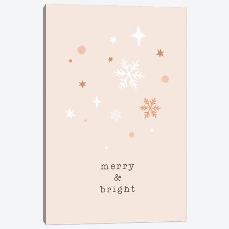 Merry & Bright Canvas Print #ORA366} by Orara Studio Art Print